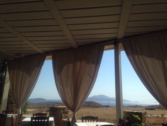 Schinoussa, Grekland: Meltemi Restaurant