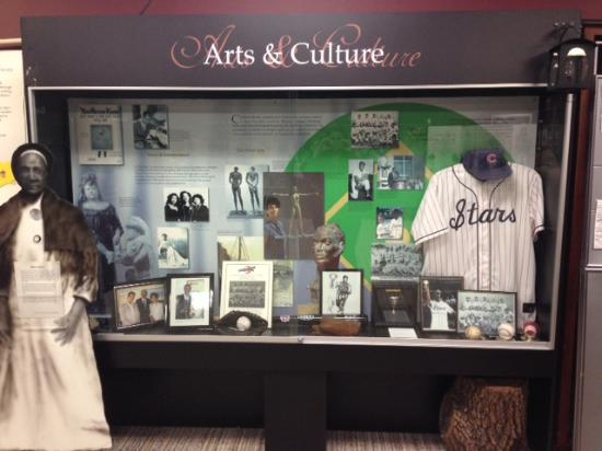 Chatham, Kanada: Art & Culture Display Case