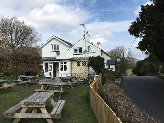 The Star Inn: suns out