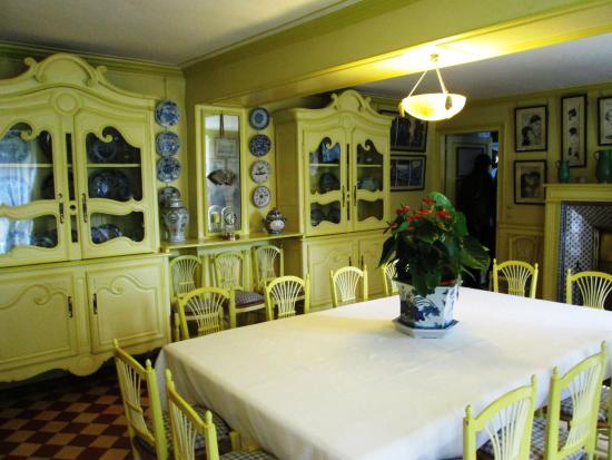 Delightful Claude Monetu0027s House And Gardens: Claude Monetu0027s Dining Room