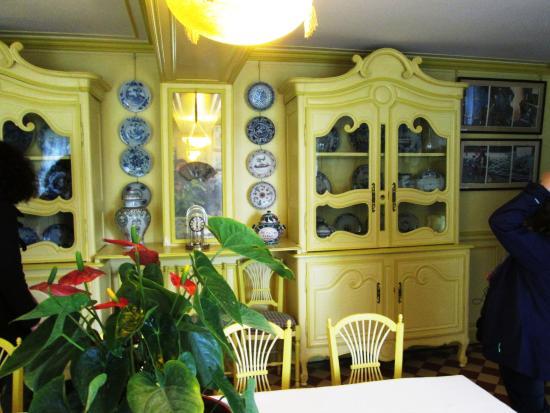 Elegant Claude Monetu0027s House And Gardens: Claude Monetu0027s Dining Room