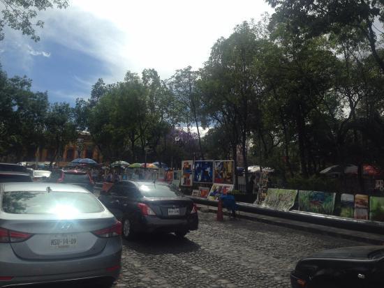 San Jacinto Plaza: Vista lateral