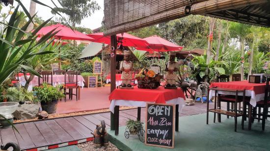 Côté -Jardin Restaurant Vientiane