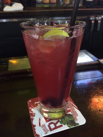 Ultimate Blueberry Pom Long Island Iced Tea