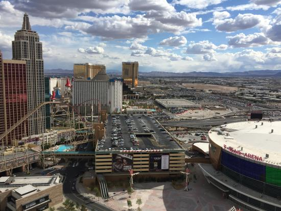 View Of Tmobile Arenathe Park From My Room Picture Hotel32: Map Of T Mobile Arena Las Vegas At Infoasik.co