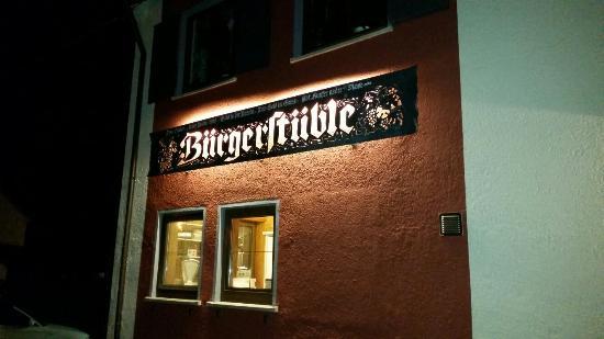 """Bürgerstüble """"Zum Flad"""""""