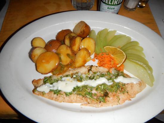 Sanny's Grill: Cilantro fish