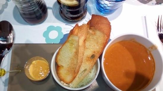 Amarine Villeneuve d'Ascq : soupe de poissons