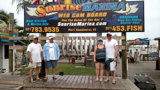 Port Canaveral Sport Fishing Charter: Limit in half a day!