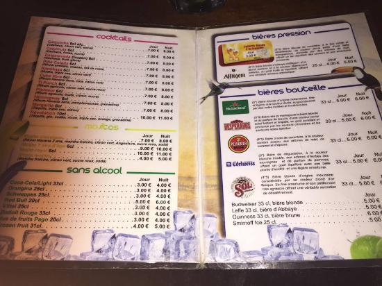 Bar le caribe picture of le caribe toulouse tripadvisor - Menu buffalo grill tarif ...