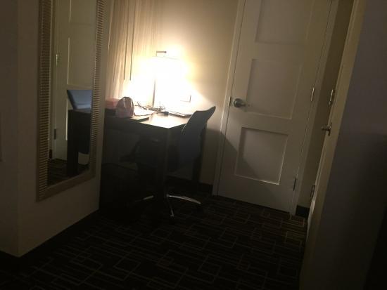 small desk next to closet bathroom picture of residence inn new rh tripadvisor co uk