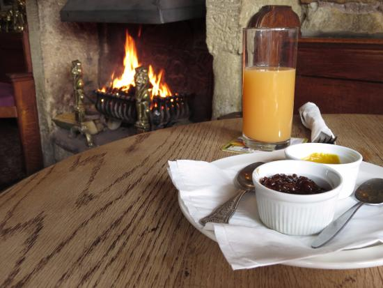The Pack Horse Inn: Escape the weather and warm yourself by the fire.