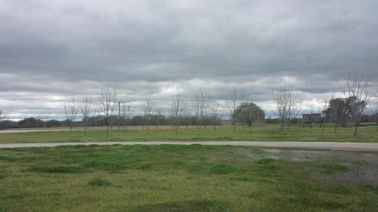 Caldwell, TX: Some of the land near the store