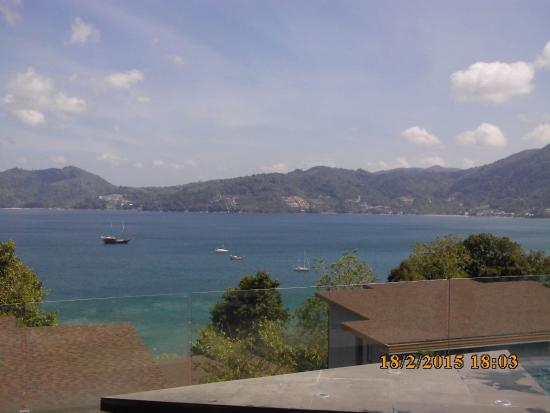 Amari Phuket: View from Clubhouse pool