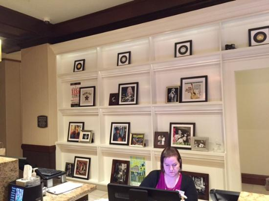 Reception Some Interesting Frames On The Back Wall Picture Of