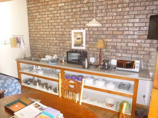 kitchen hot plate is built in on top of the little stove picture rh tripadvisor co za