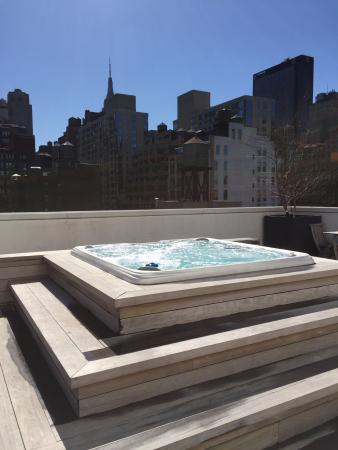 Rooftop Jacuzzi Picture Of Cassa Hotel Times Square New York City