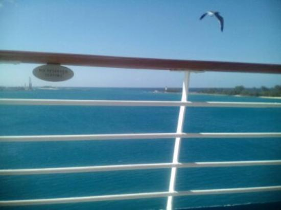 Island Resort and Golf Club: view from ship deck