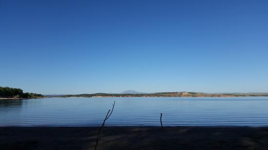Glendo State Park: The view on Glendo Reservoir