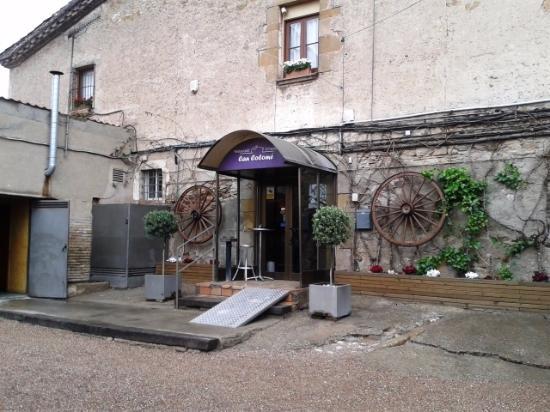 El Papiol, Spanyol: Entrada restaurante