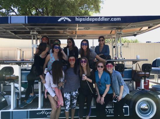 Austin Bachelorette Party Bar Bike Picture Of Hipside Peddler
