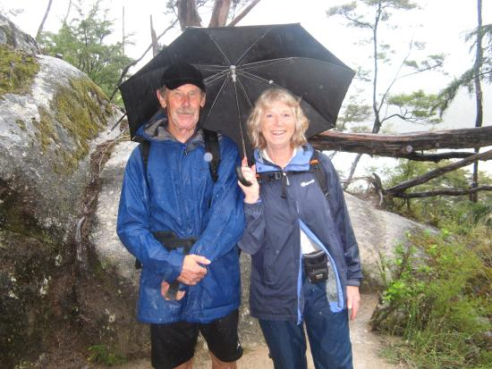 Riwaka Retreat: Pam & Ken - still smiling