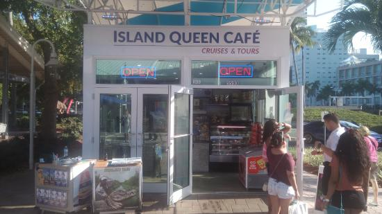 Island Queen Cafe   Biscayne Blvd Miami Fl