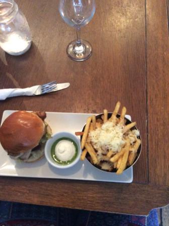 The Gower Kitchen  Chicken burger. Chicken burger   Picture of The Gower Kitchen  Swansea   TripAdvisor