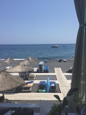 oia sunset picture of afroditi venus beach hotel spa kamari rh tripadvisor com