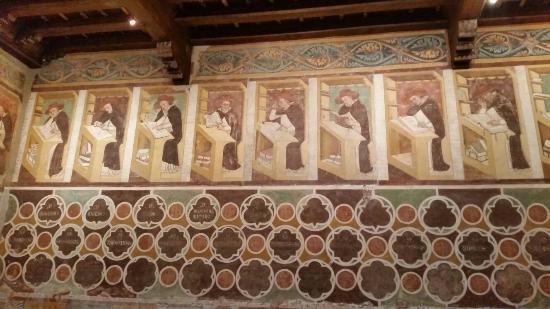 Trewizo, Włochy: Alcuni particolari degli affreschi