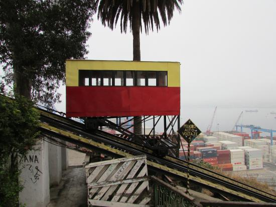 Hotel Casa Thomas Somerscales : Nearby Funicular