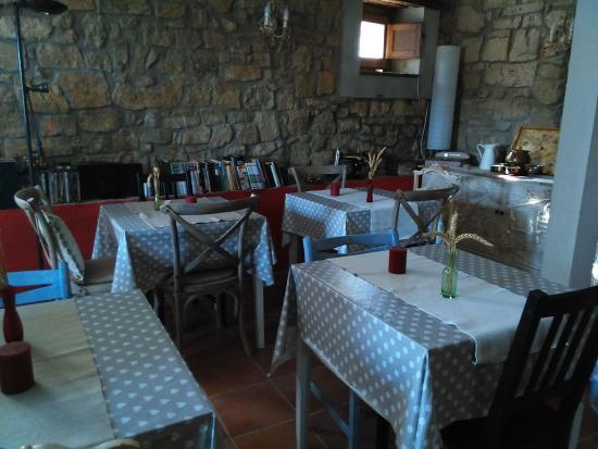 Province of Soria, Spain: Espacio para desayuno, etc