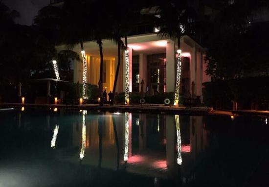 W South Beach: La piscina y el jardín lo mejor del hotel