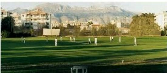 El Albir, Spanje: Sporting Alfas Cricket Club