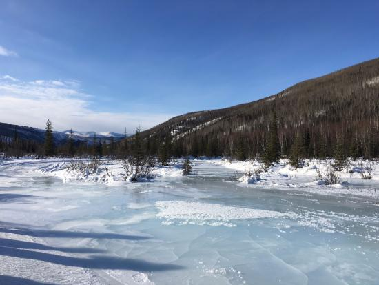 Chena Hot Springs Resort: Frozen Lake
