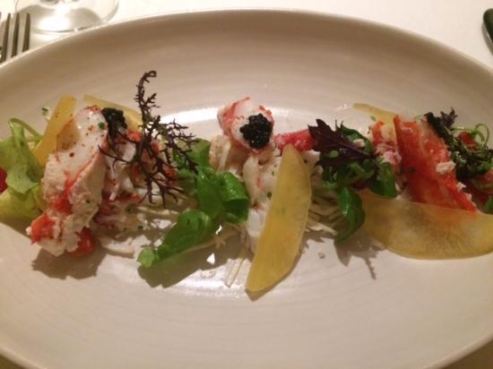 San Mateo, CA: Crab Salad