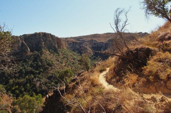 Isalo, Madagaskar: Canyon