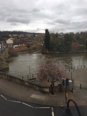 The Severn Arms Hotel River From Room 7 Bridgnorth