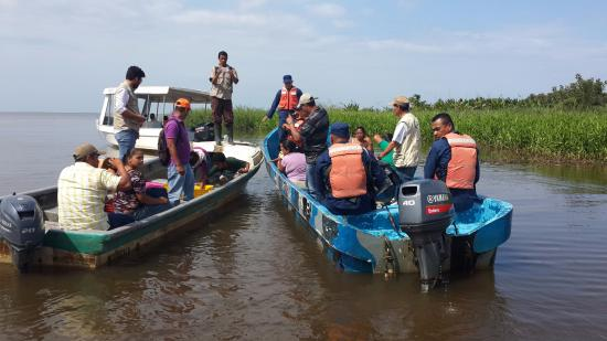 San Carlos, Νικαράγουα: Liberación de fauna silvestre, con el acompañamiento del MARENA y Fuerza Naval.