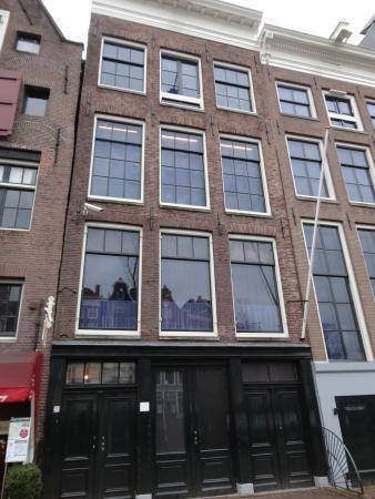 Chapa en portal de casa anne frank huis picture of anne frank house amsterdam tripadvisor - Casa anna frank ...