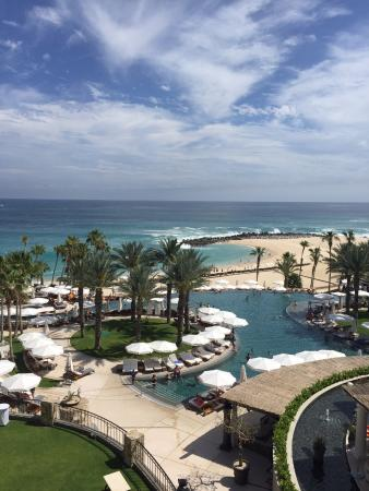 view from a lounge chair in front of the pool picture of hilton rh tripadvisor co za