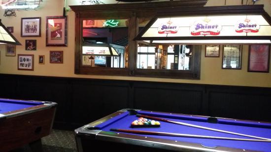 pool tables in the baker street pub picture of baker street pub rh tripadvisor com