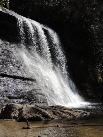 Cashiers, Carolina del Norte: Silver Run Falls