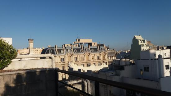 America Plaza Hotel: vista desde la terraza