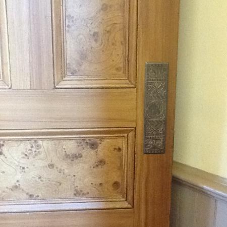 Powhatan, AR: Interior door showcasing faux wood graining