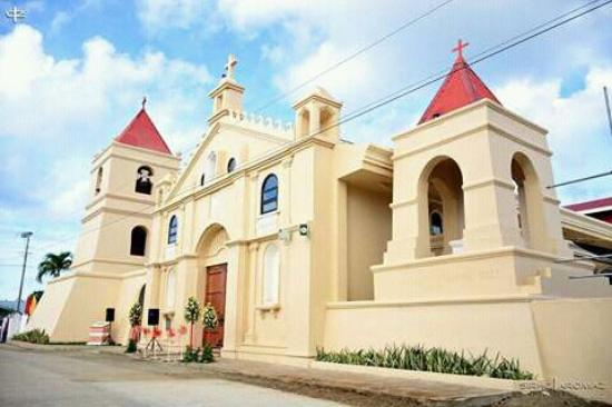 Balangiga, Filipiny: St Lawrence the Martyr Church