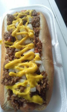 South Venice, ฟลอริด้า: Mad Dogs Hot Dogs