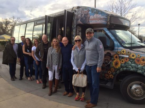 Magic Bus Tours: The Magic Bus, aptly named i think