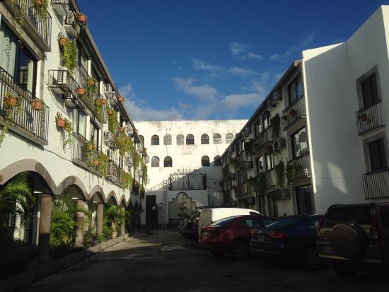 Hotel Hacienda de Castilla : Entrada del Hotel