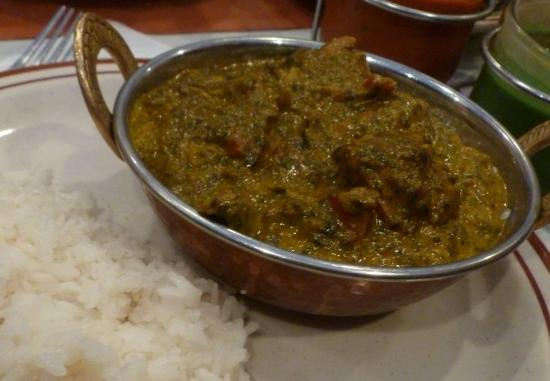 Masala Indian Cuisine: Lamb Saag...